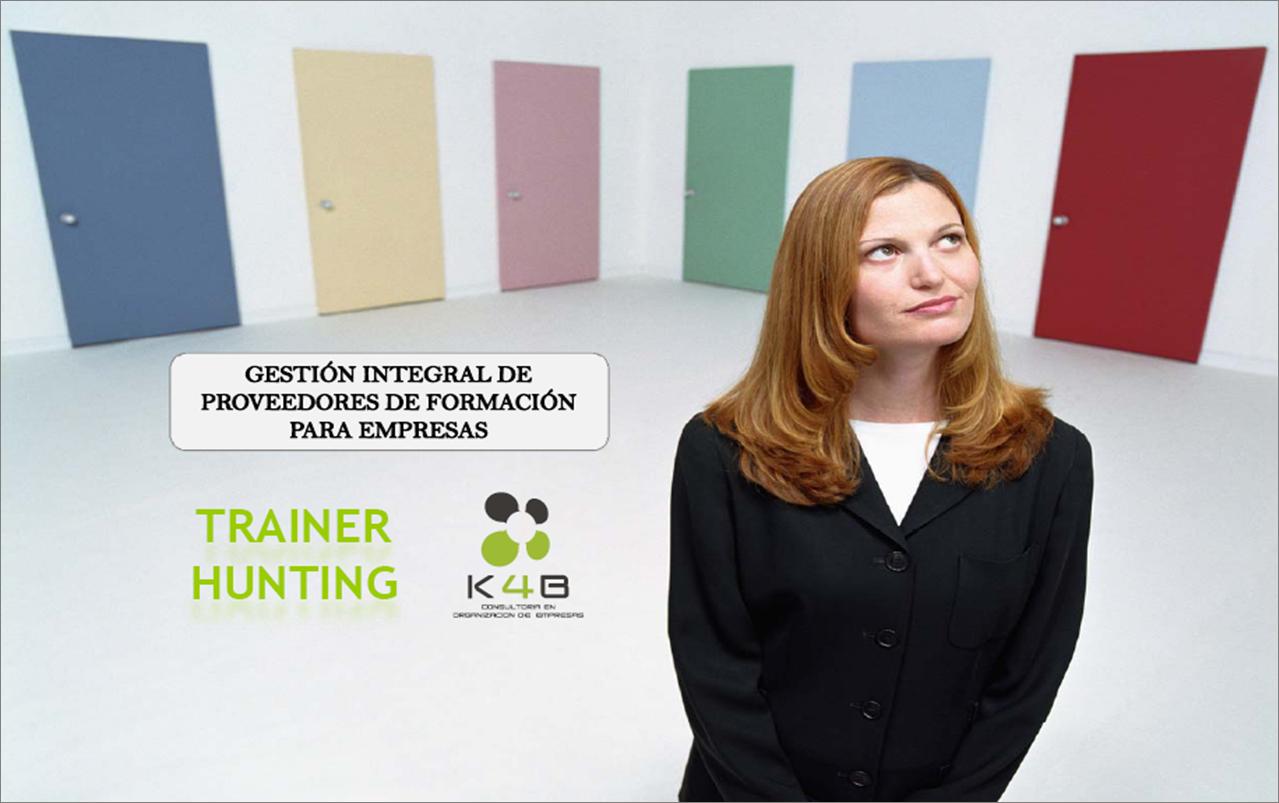 Servicio de gestión de proveedores de formación